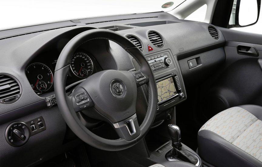 Интерьер Volkswagen Caddy