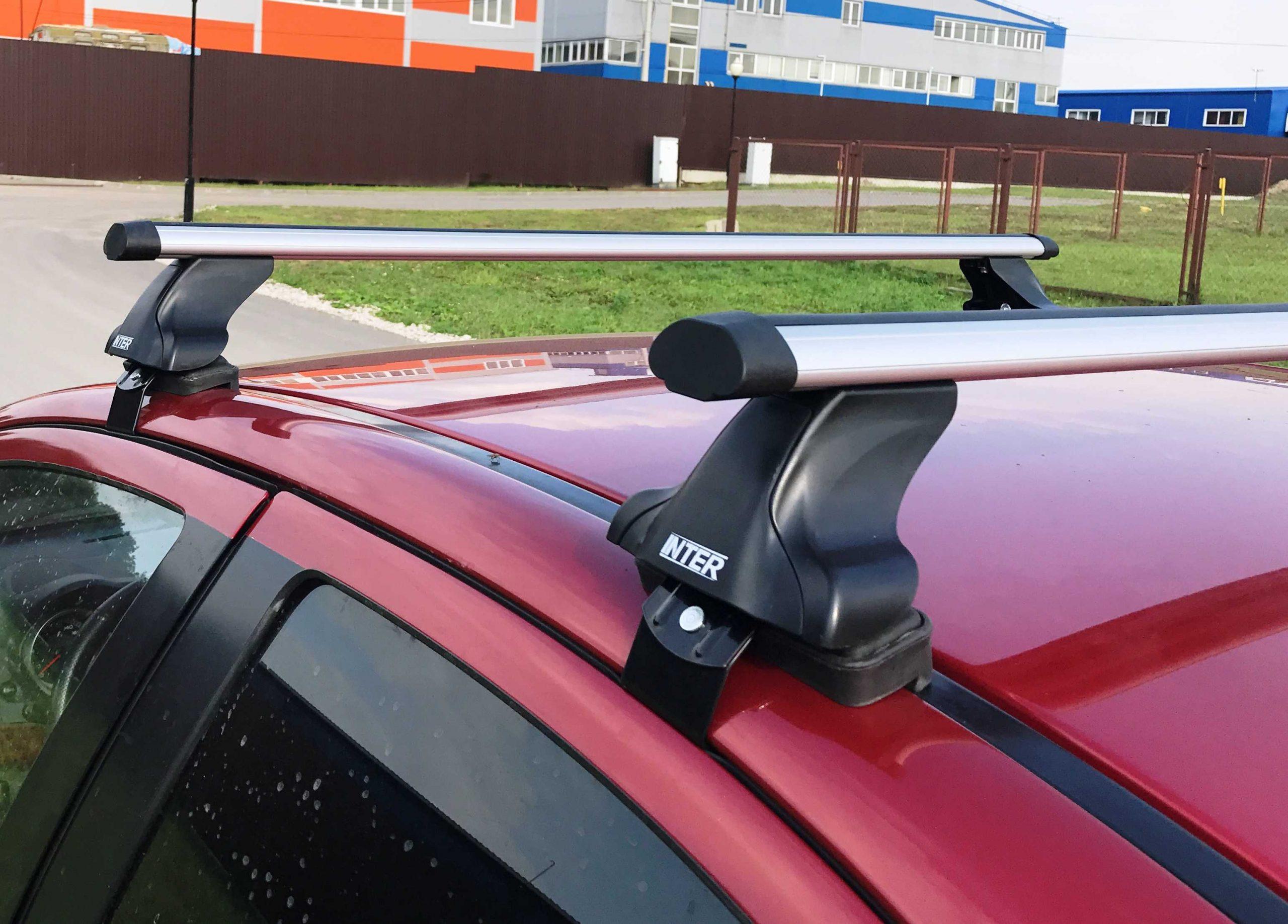 Как подобрать багажник на гладкую крышу автомобиля