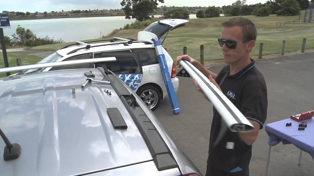 как правильно поставить багажник на крышу автомобиля