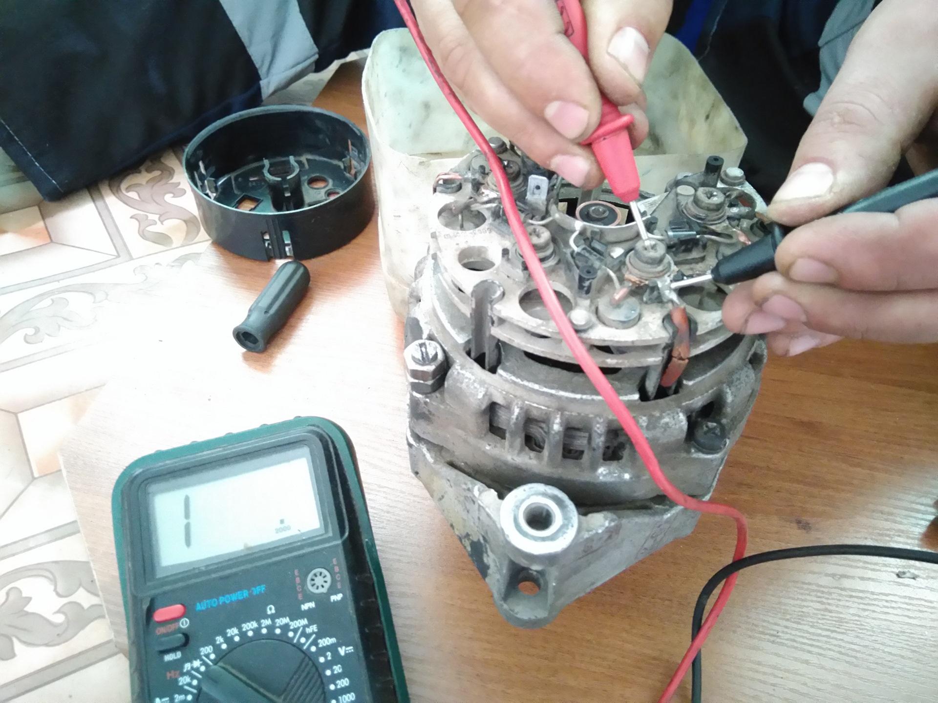 Как проверить генератор на «Приоре»