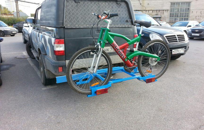 Как сделать крепление для велосипеда на фаркоп своими руками
