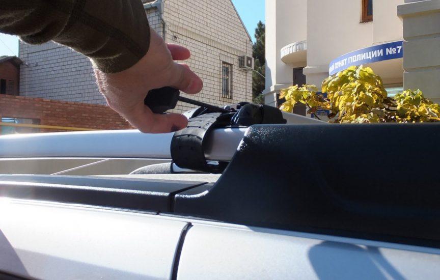 как снять багажник с крыши автомобиля