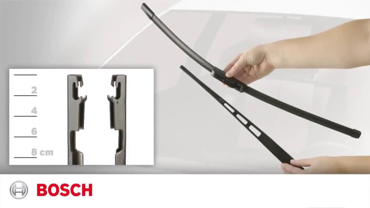 Как снять дворники Bosch