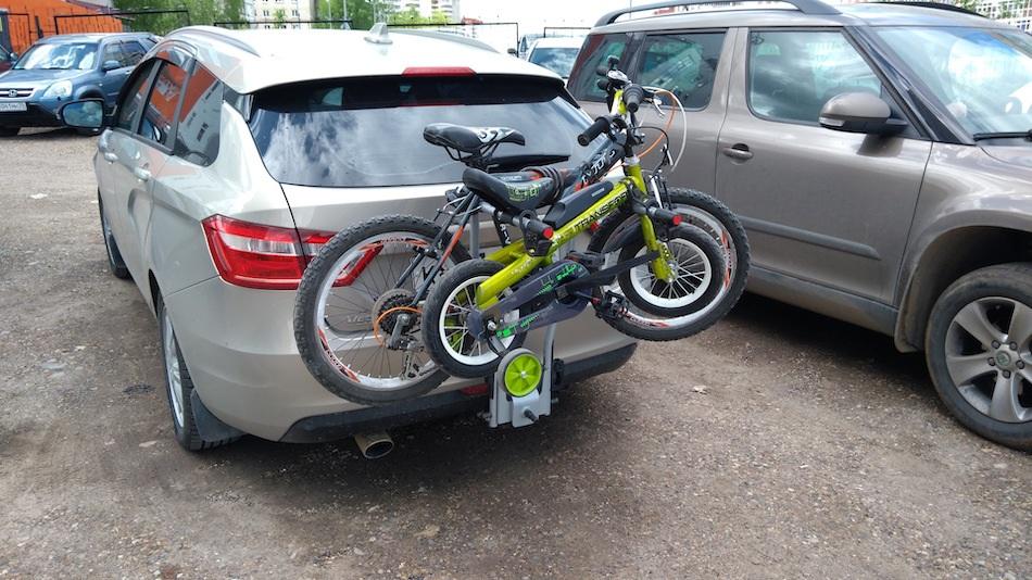 крепление для велосипеда на машину на фаркоп
