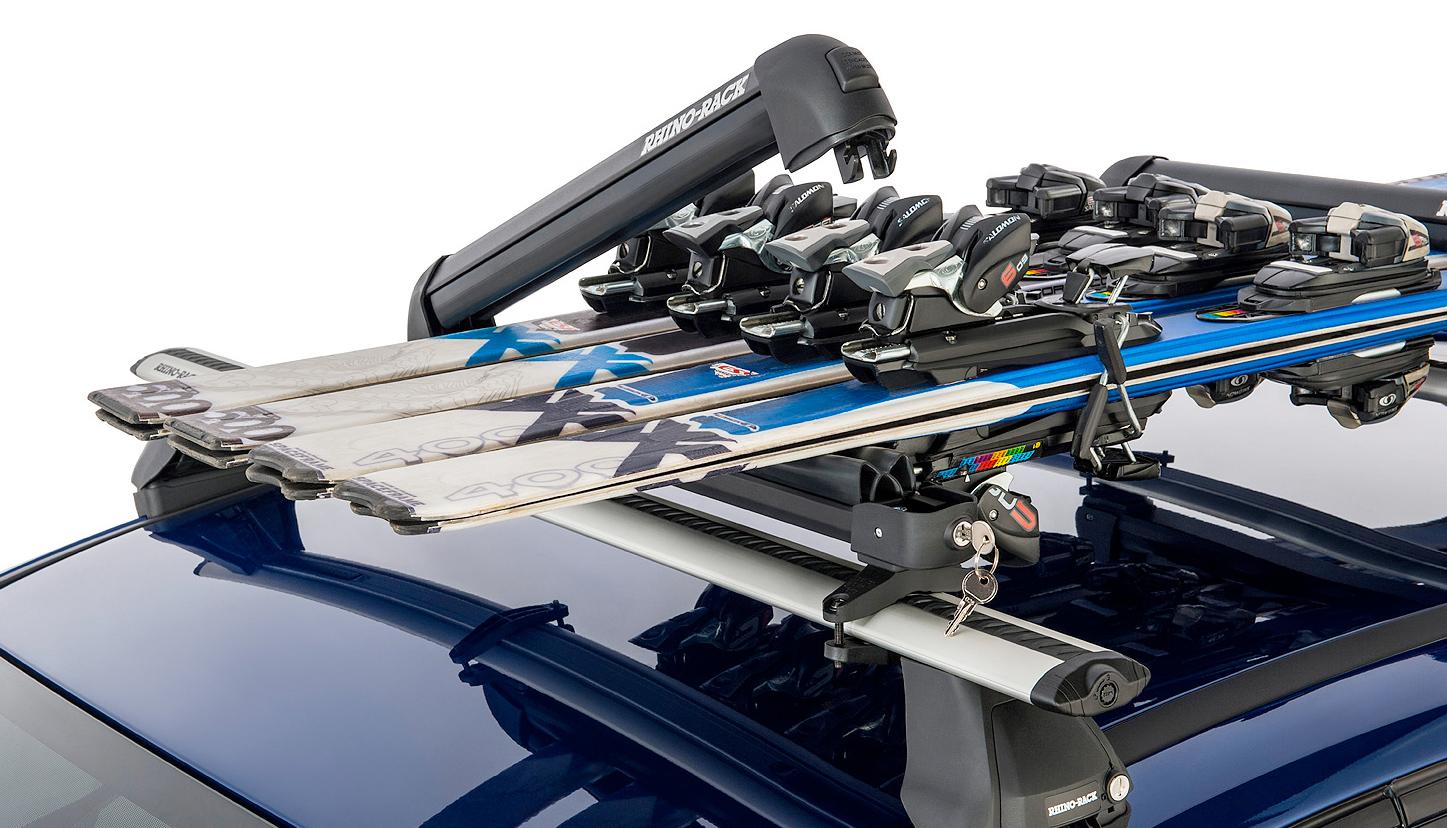 Крепление на крышу для лыж и сноубордов