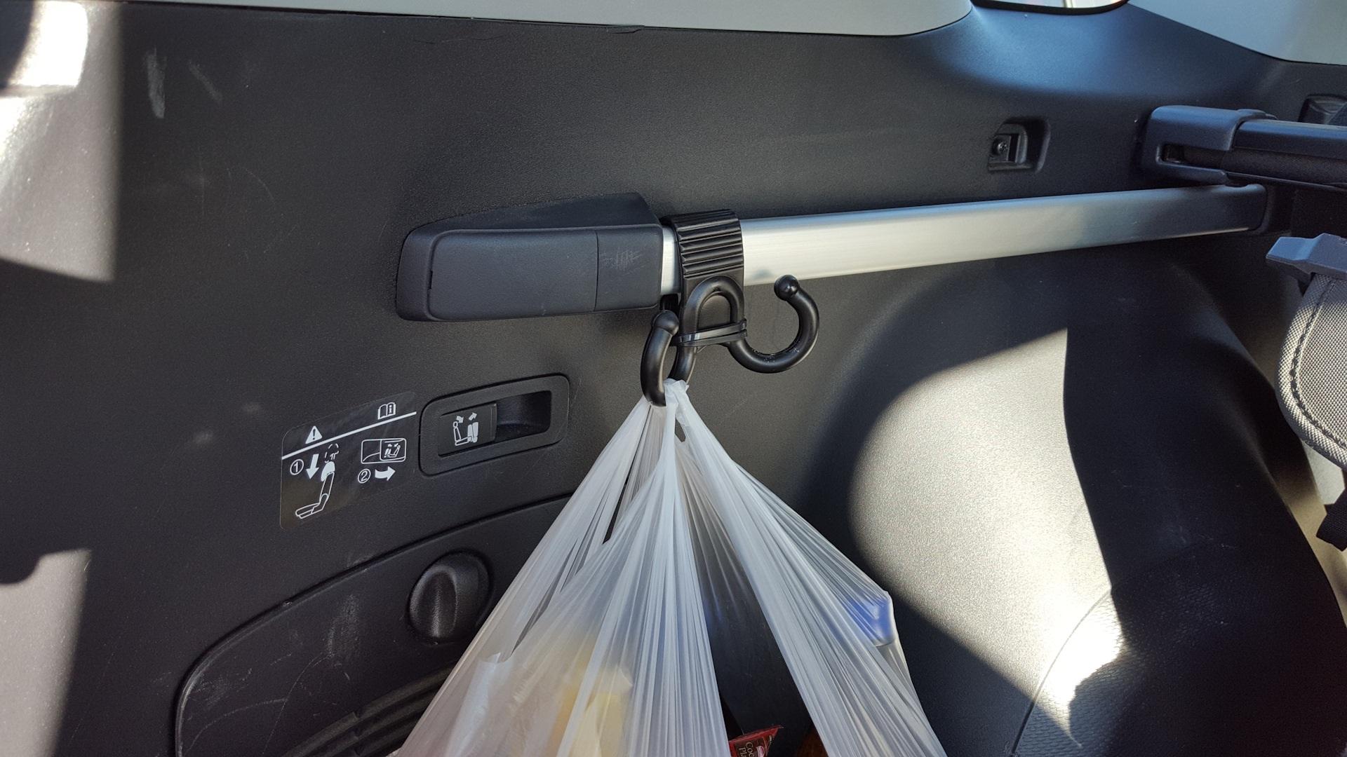 Лучшие крючки в багажник автомобиля: как выбрать и прикрепить своими руками