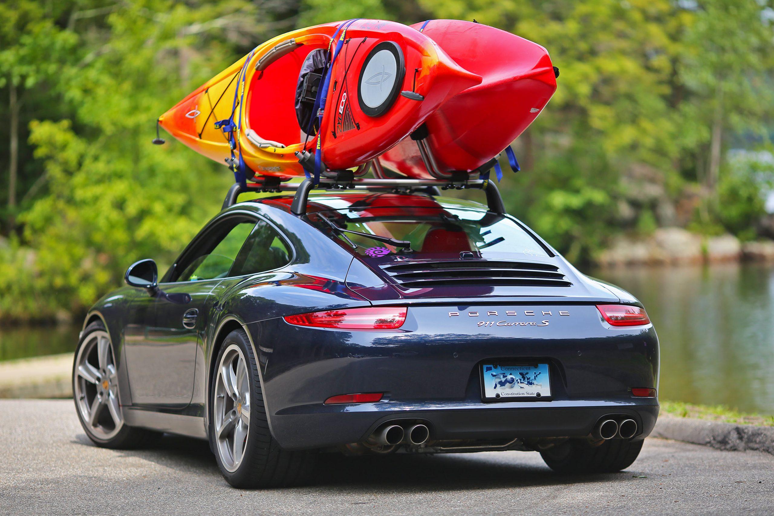 Модели багажников для каяка