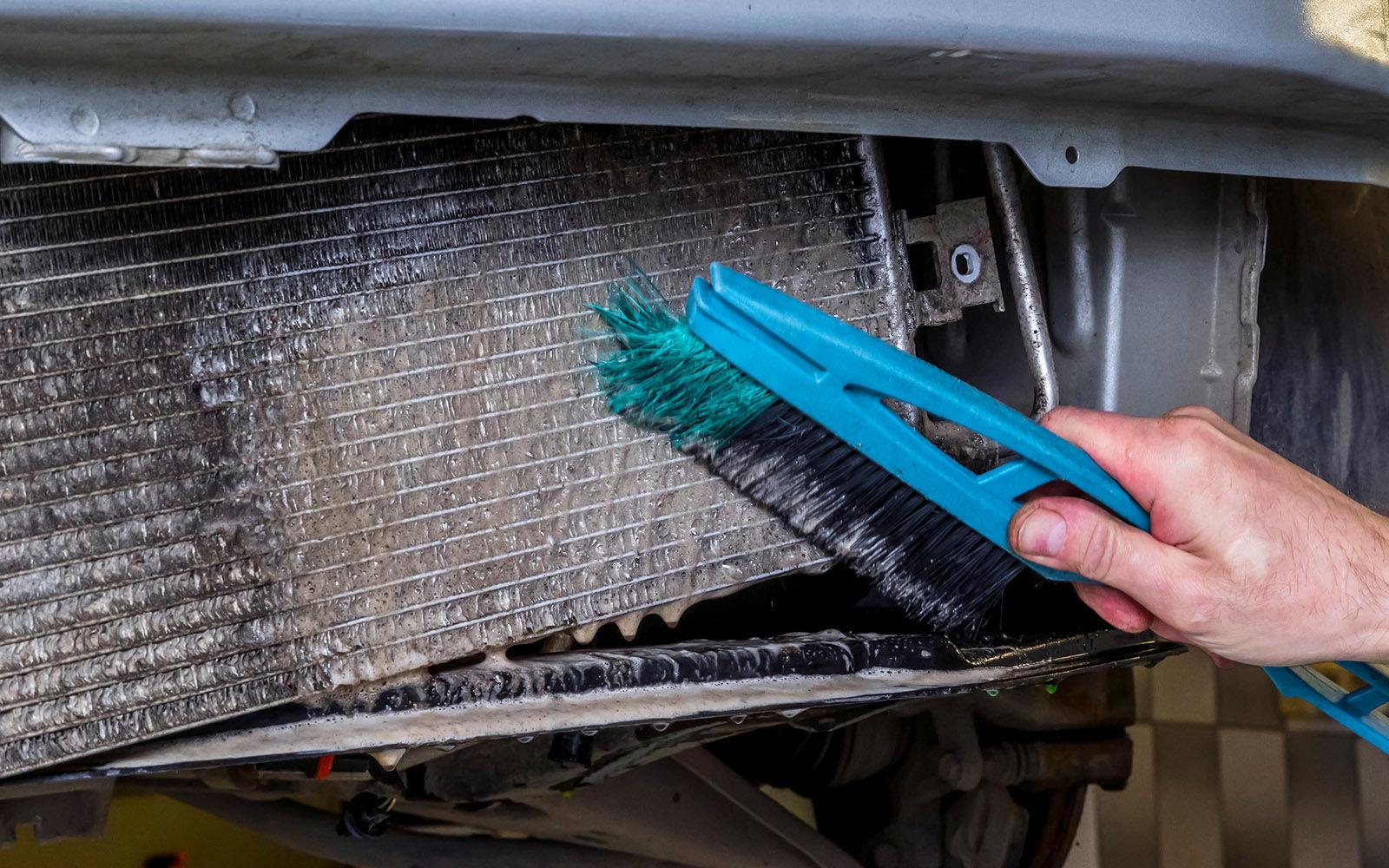 Мягкая щетка для мытья автомобиля