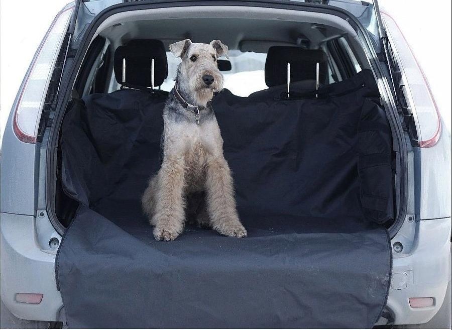 Накидка в багажник для собак
