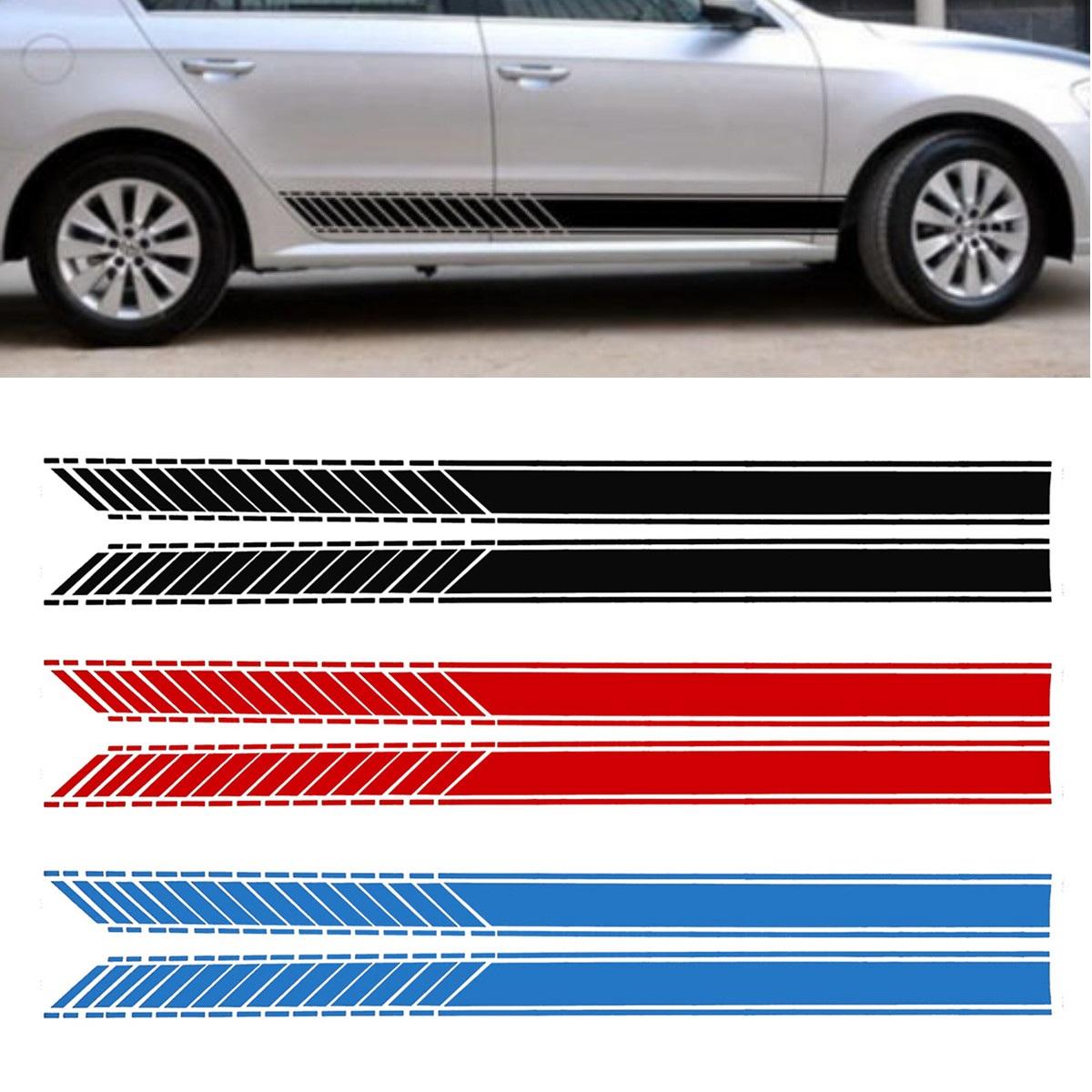 Наклейки-полоски на автомобиль: виды, лучшие материалы