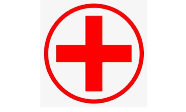 Наклейка «Красный крест»