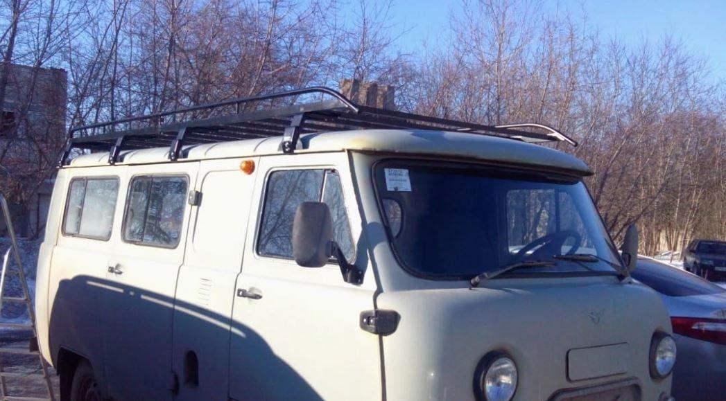 Обычная плоская корзина для УАЗ 3741