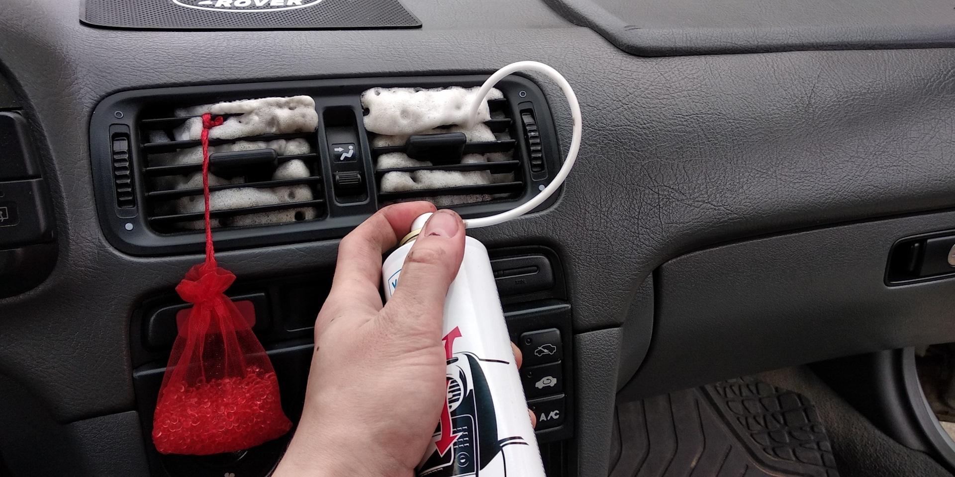 Очиститель воздуховодов на машине