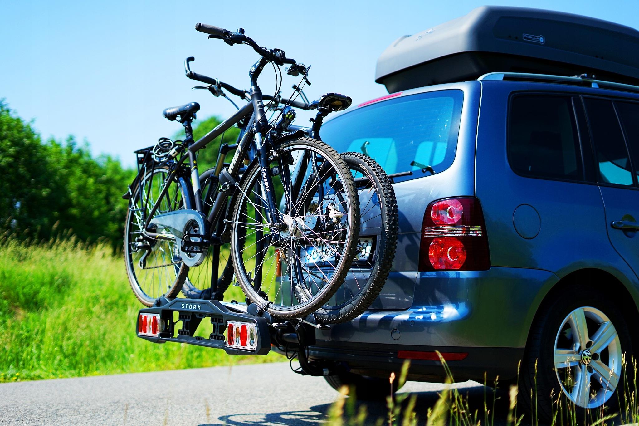 Прицеп для велосипедов