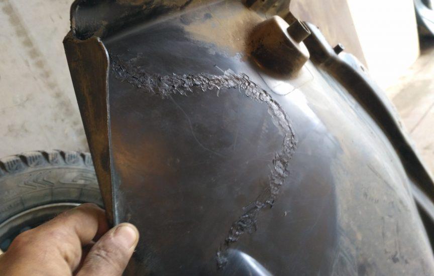 ремонт подкрылка автомобиля своими руками