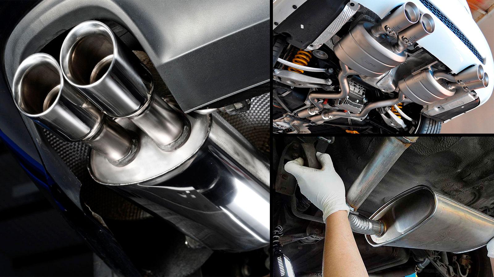 Как правильно ухаживать за выхлопной системой в машине