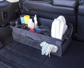 самодельный органайзер в багажник автомобиля