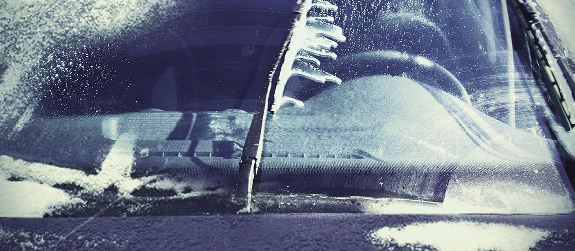 Стеклоочистительная жидкость замерзла
