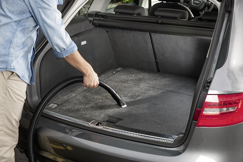 уборка багажника автомобиля