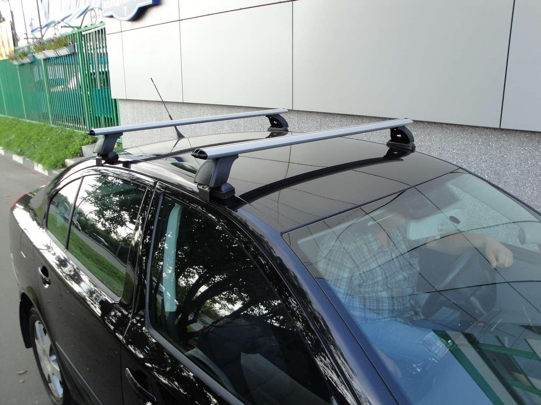 Установка багажника на крышу автомобиля