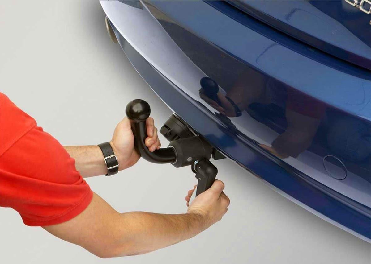 Установка фаркопа на машину