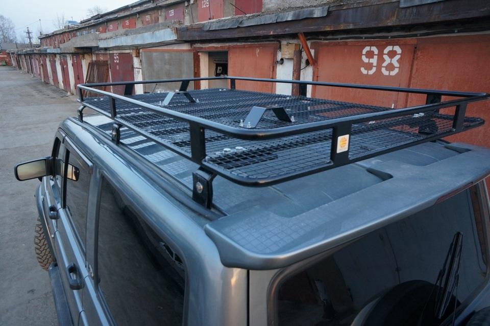 Установка на водостоки багажника своими руками