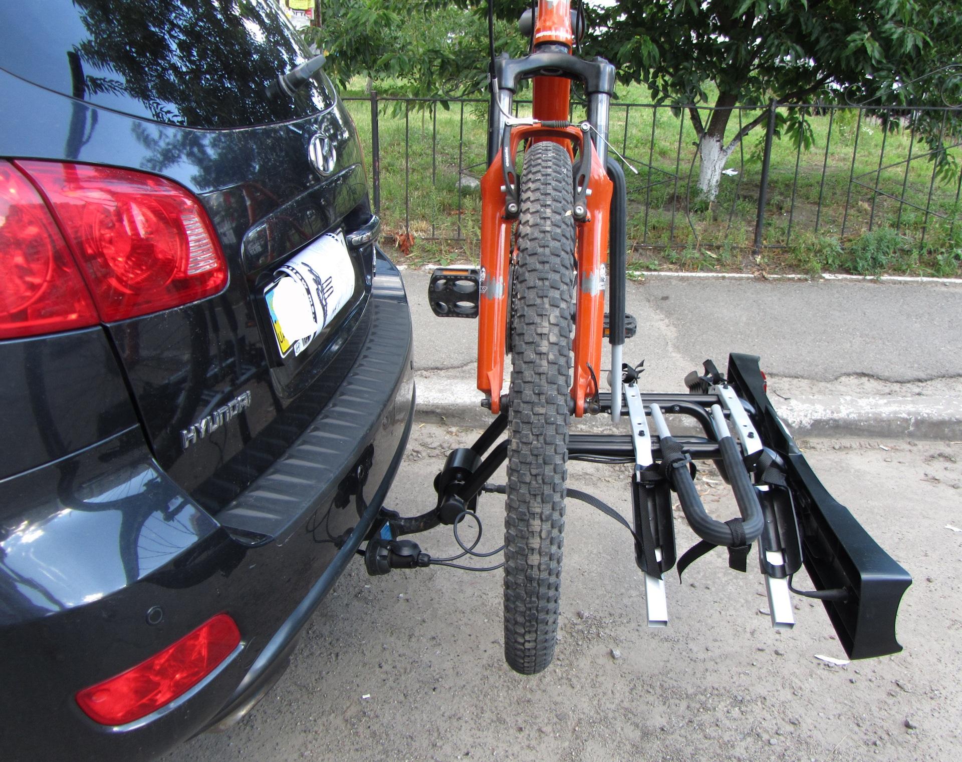 Велобагажник с креплением на фаркоп авто своими руками