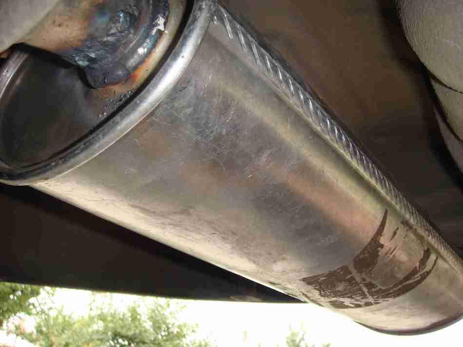 Восстановление глушителя авто