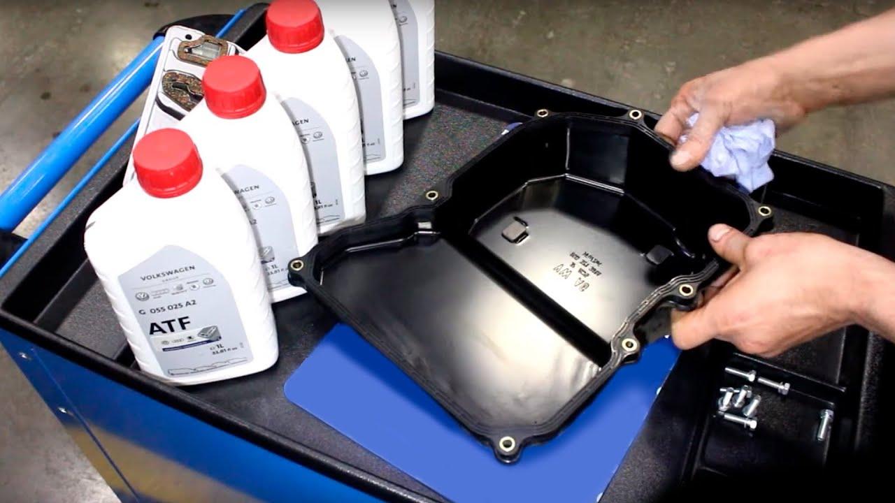 Замена масла на автомате «Фольксвагена Амарок»
