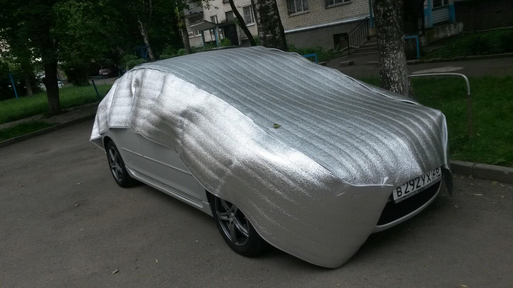 Защита машины от града
