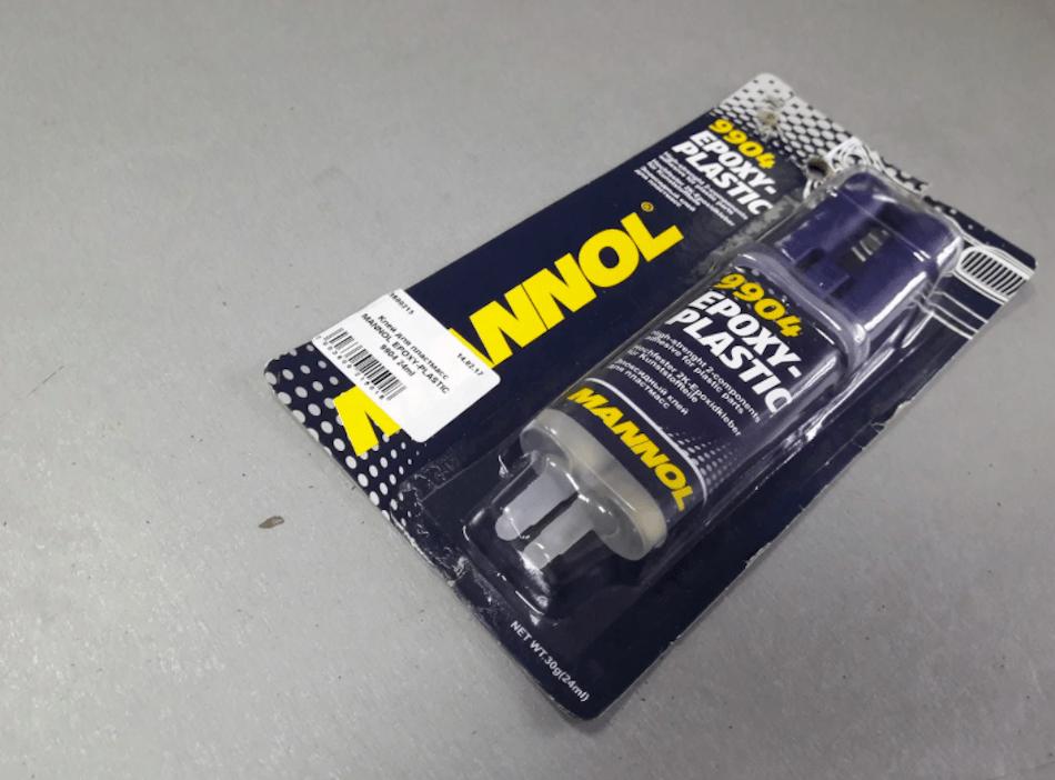 универсальный клей для ремонта автомобиля Mannol Epoxi-Plast 9904