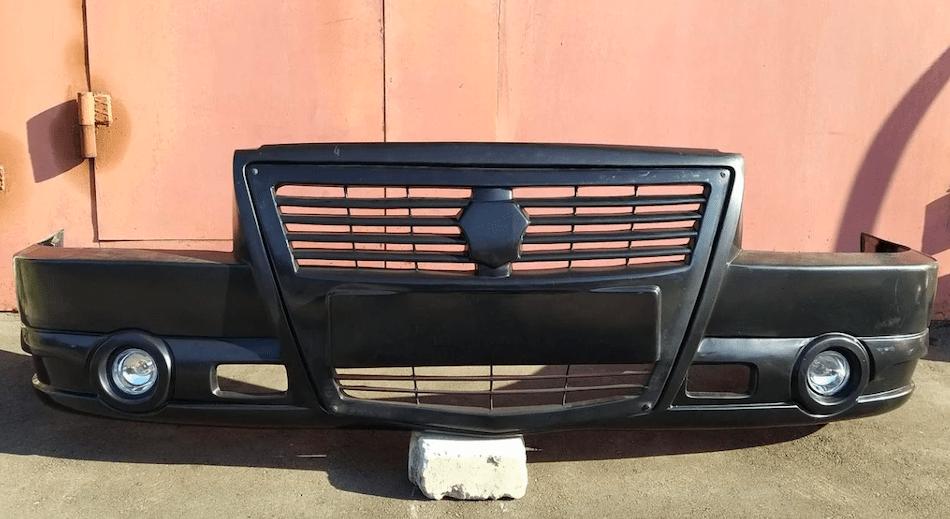 бампер передний «Технопласт» 3302-2803012-20 для ГАЗ 3302 Газель