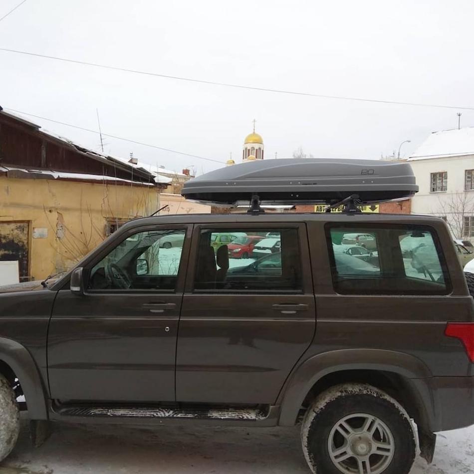багажник «Атлант» на крышу автомобиля УАЗ «Патриот»
