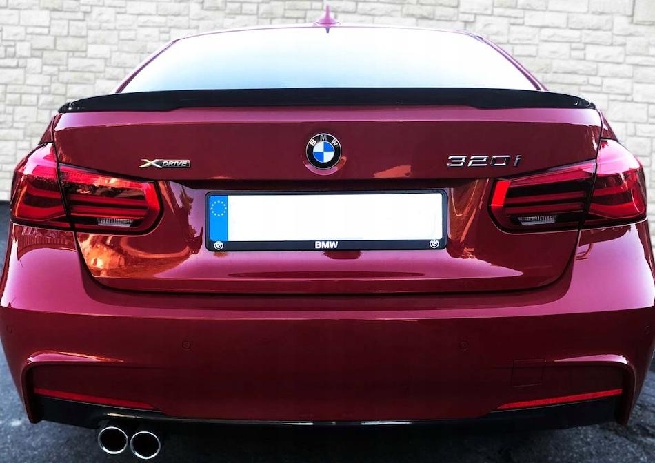 спойлер на крышку багажника BMW F20 M-performance