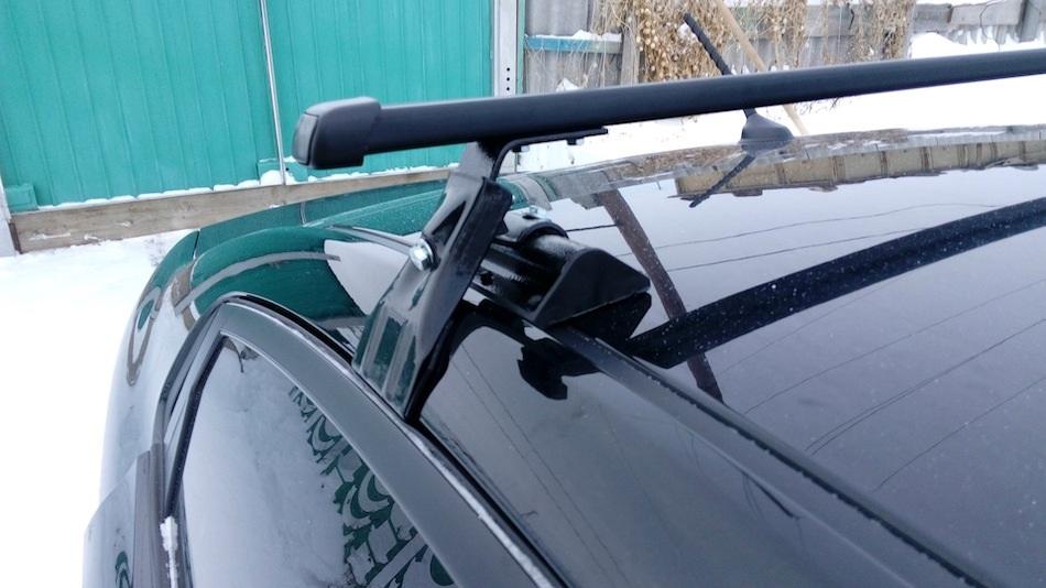 универсальный багажник на крышу автомобиля без рейлингов, Д-2, «Муравей»