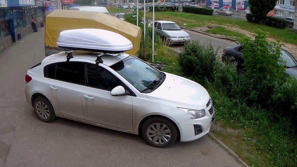 багажник на крышу CHEVROLET CRUZE J300 седан 2009-2015