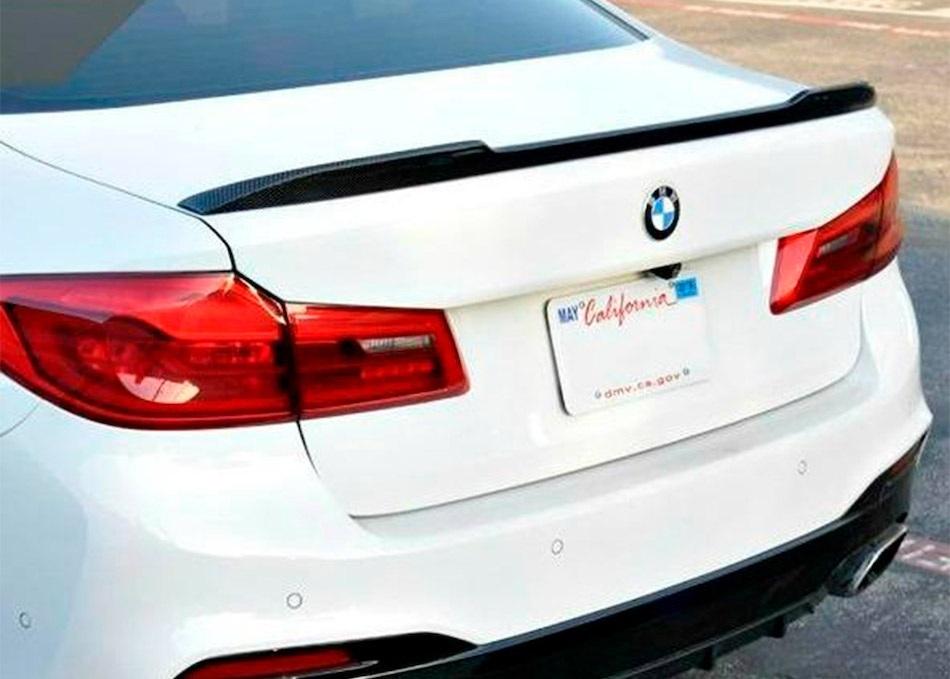 спойлер на крышку багажника для BMW G30 F90