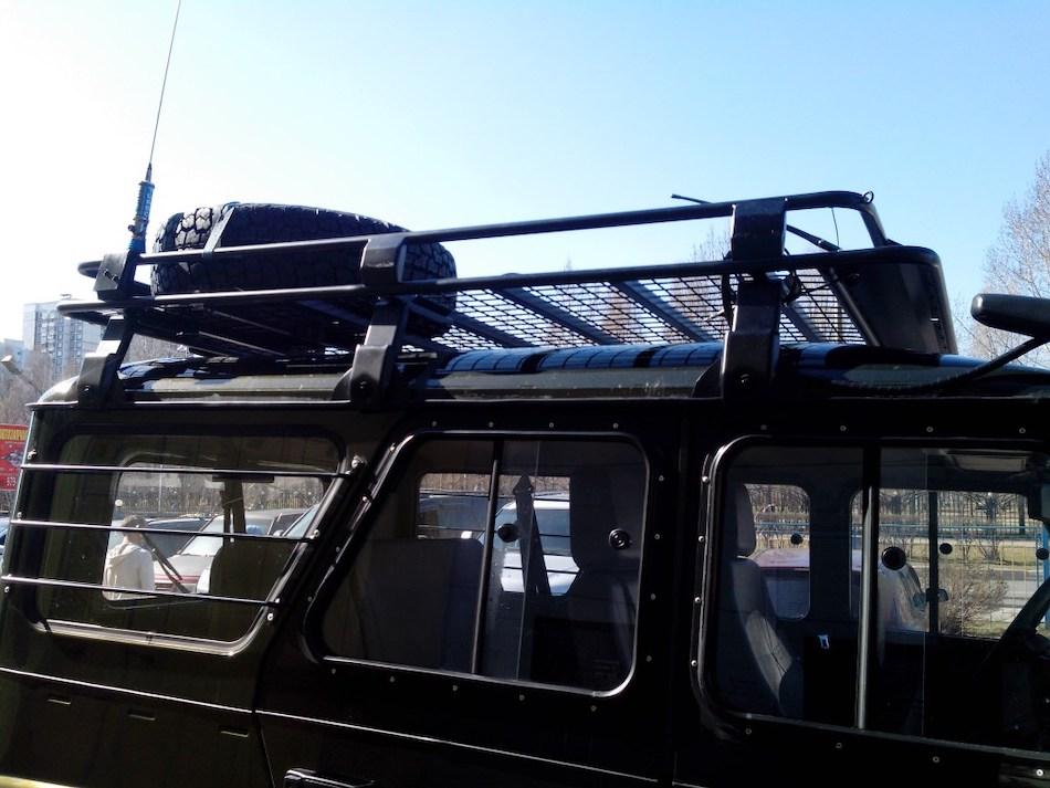 багажник «Евродеталь» для УАЗ «Хантер» 3151 с сеткой