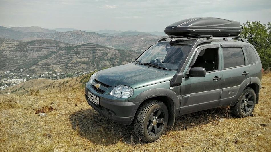 багажник на крышу CHEVROLET NIVA внедорожник 2002