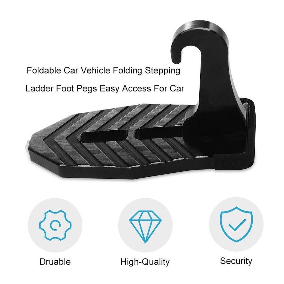 легкий доступ на крышу автомобиля с молотком