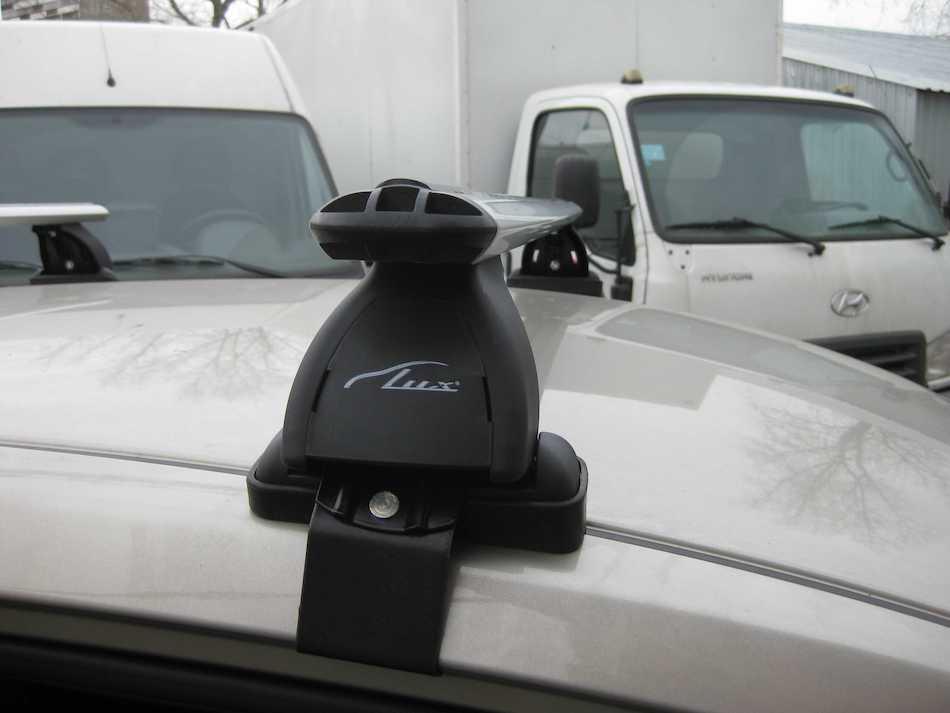 багажник на крышу Lux «Трэвел 82» для Toyota Highlander III