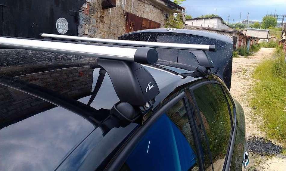 багажник на крышу Skoda Octavia 3 A7 лифтбек 2013