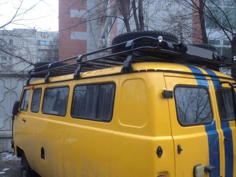 экспедиционный багажник «Евродеталь» для УАЗ 3741, 2206