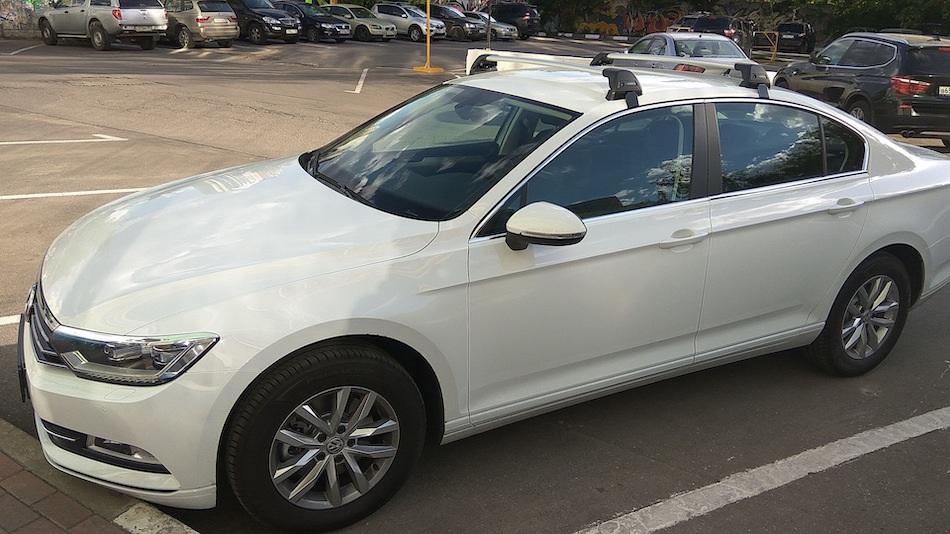 багажник Yakima (Whispbar) на крышу Volkswagen Caddy