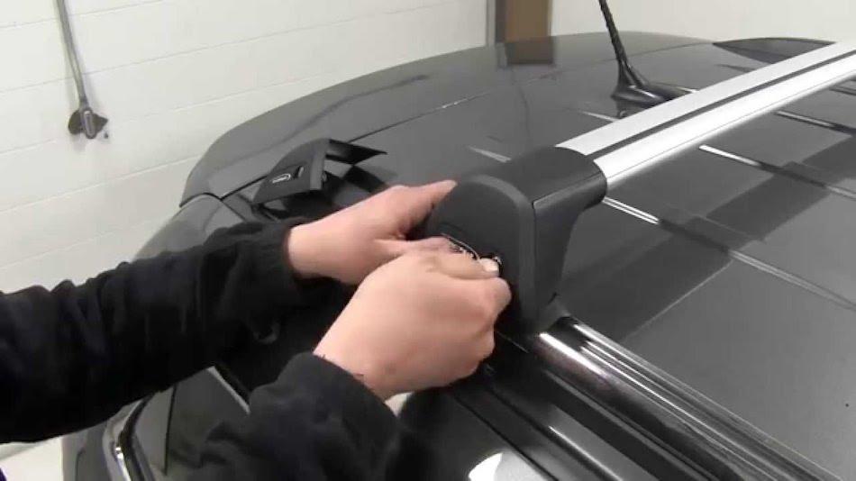 Yakima (Whispbar) на крышу Mazda CX-5 5 штатные