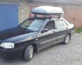 багажник на крышу чери