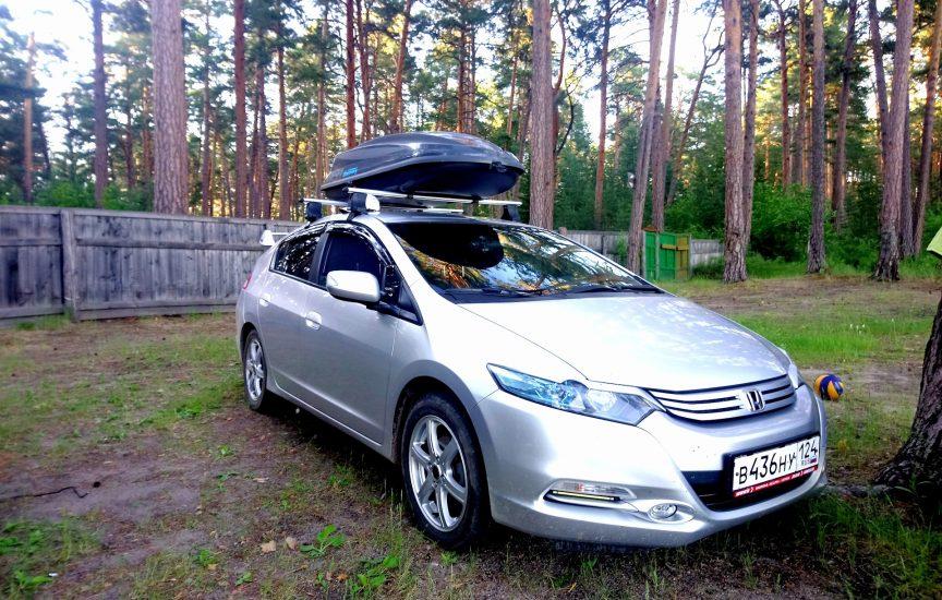 багажник на крышу хонда