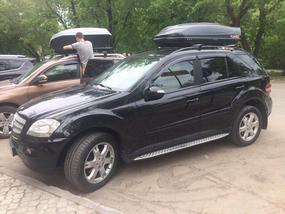 Багажник на крышу Mercedes-Benz M-class (W164) внедорожник