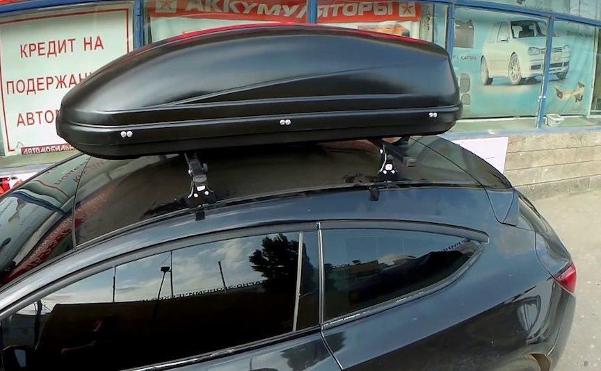 багажник на крышу опель