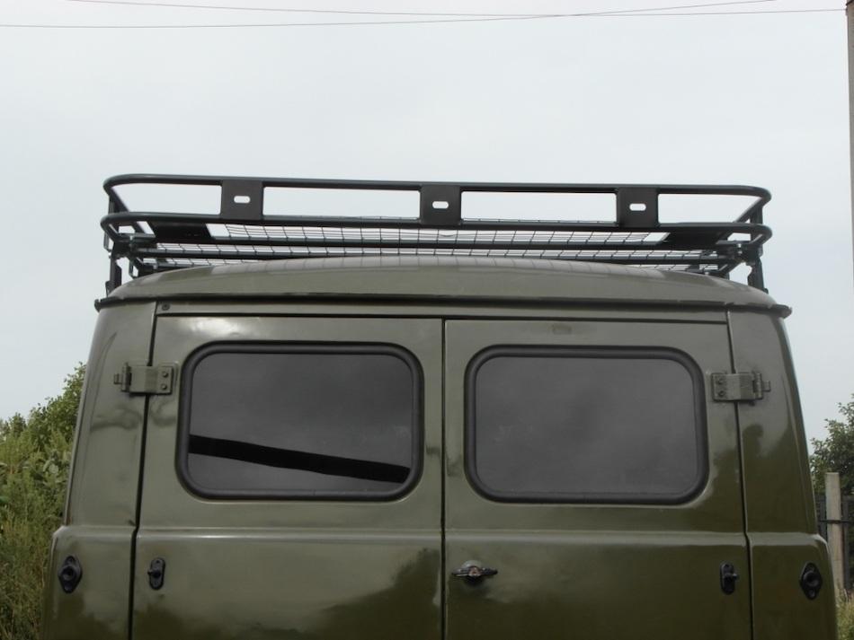 готовый багажник на крыше УАЗ